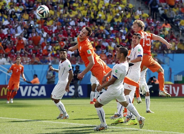 Netherlands vs. Chile