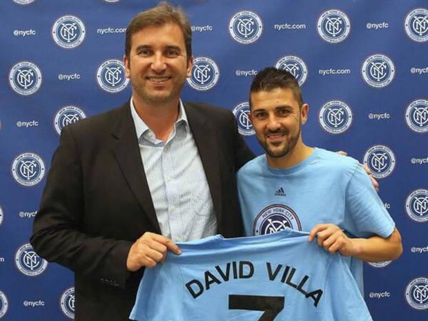 Villa signs with NYCFC