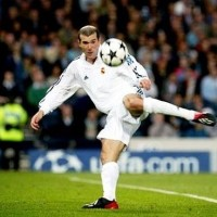 Zidane's Champions League final strike
