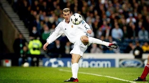 Zidane's Champions League final strike