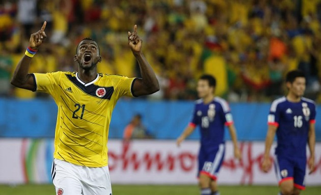 Jackson Martinez for Colombia