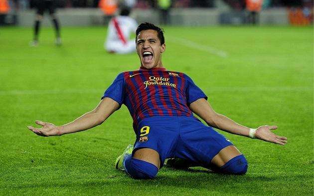 Barcelona's Sanchez