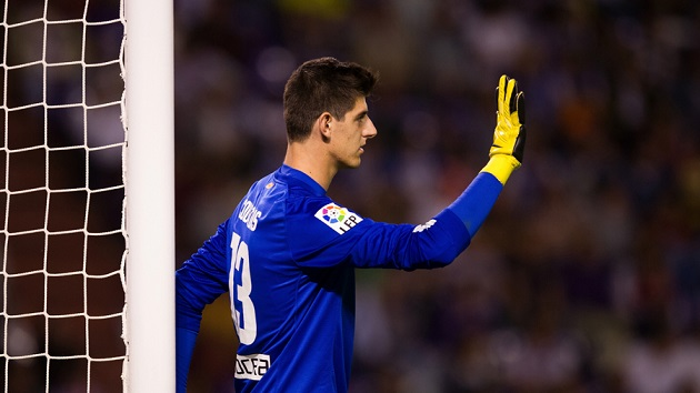 Courtois for Atletico
