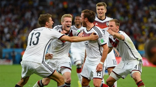 Gotze scores World Cup winner