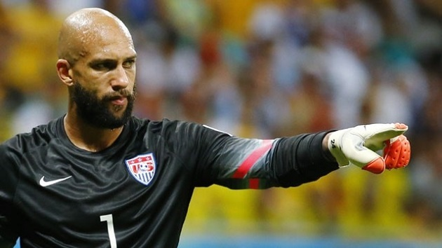 Tim Howard vs. Belgium