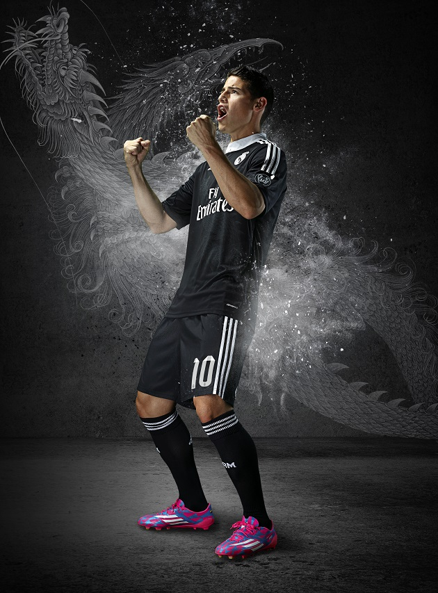 adidas introduces yamamoto designed real madrid 3rd jersey   the