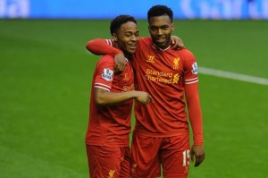 Liverpool's Sturridge and Sterling
