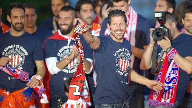 Atletico's Simeone