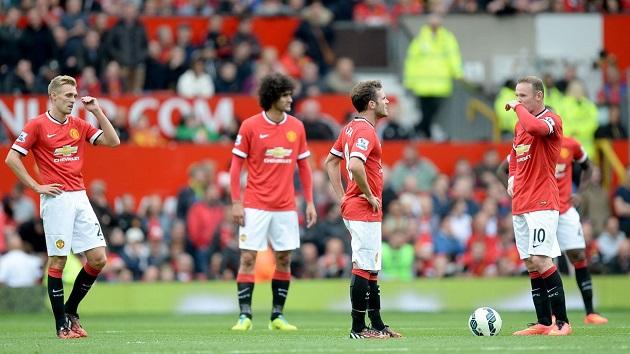 Man United lose to Swansea