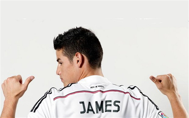 Real's James Rodriguez