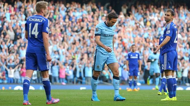 Lampard scores equalizer versus Chelsea