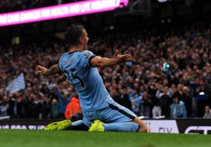 Man City's Jovetic