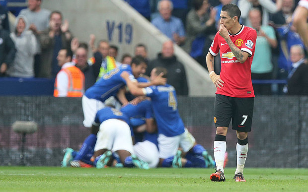 Di Maria after Leceister score