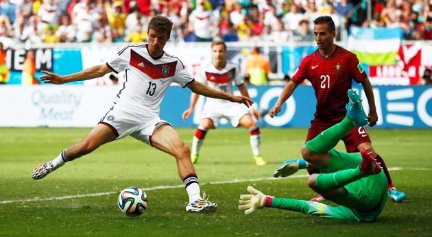 Muller scoring vs. Portugal