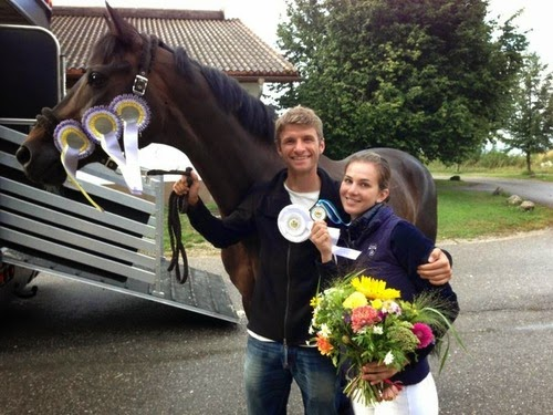 Muller and wife