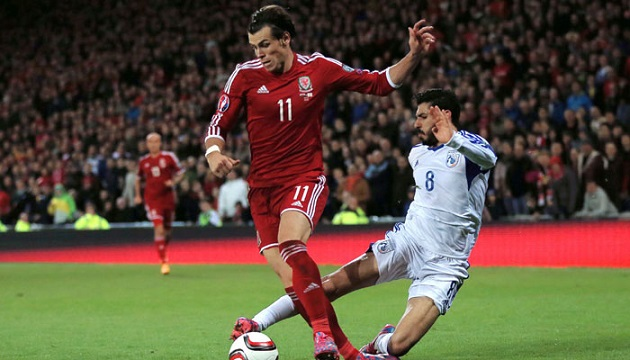Gareth Bale for Wales