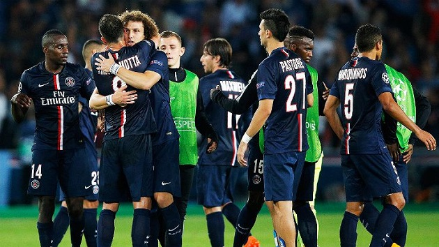 PSG in Champions League