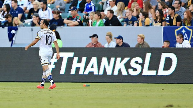Galaxy say goodbye to Donovan