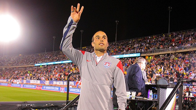 Donovan waves goodbye vs. Ecuador
