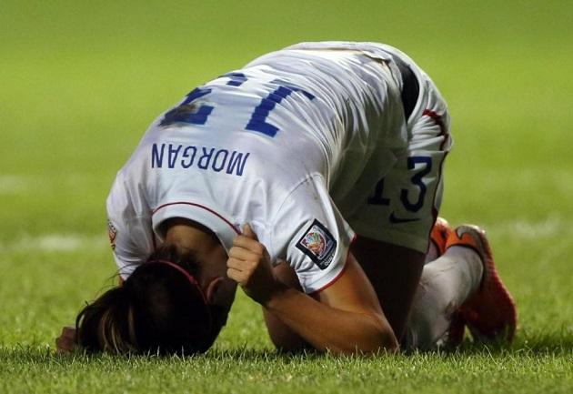 Alex Morgan injury