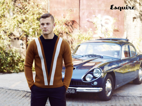 Jack Wilshere in Esquire
