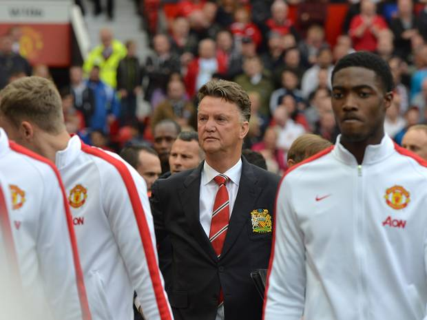 Van Gaal with United
