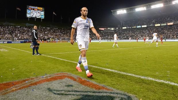 LA Galaxy's Landon Donovan