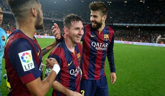 Messi sets La Liga record