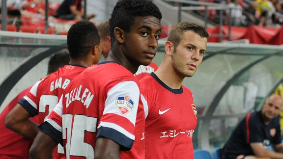 Gedion Zelalem of Arsenal