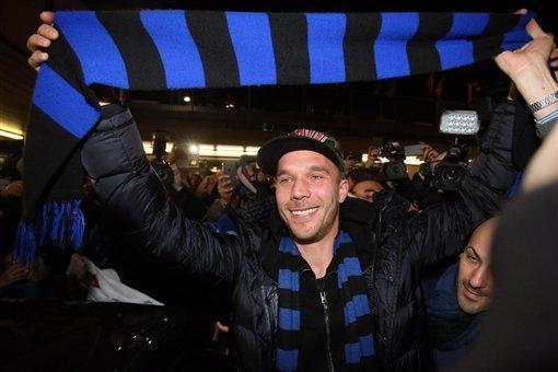 Podolski, Inter Milan