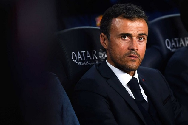 Barca's Luis Enrique