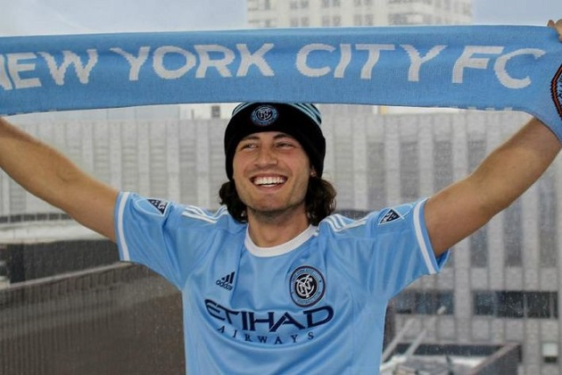 Diskerud signs with NYCFC