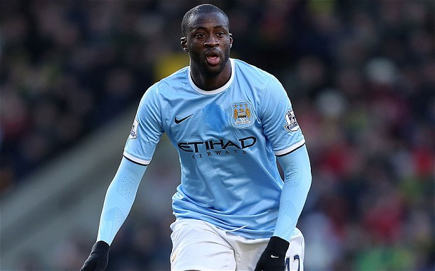 Man City's Toure