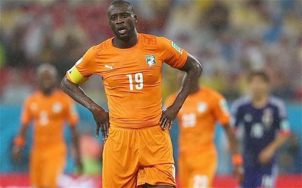 Ivory Coast's Yaya Toure
