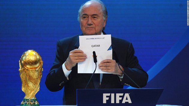 Blatter and FIFA choose Qatar