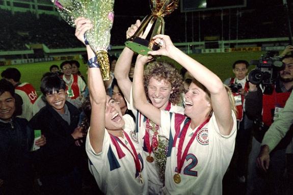 US Women win 1991 World Cup