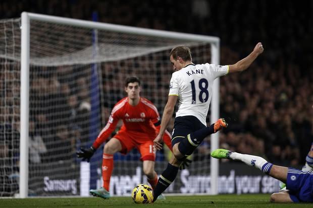 Tottenham's Harry Kane