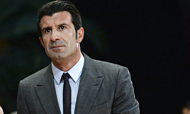Luis Figo running for FIFA prez