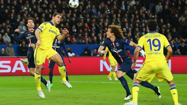 Ivanovic scores vs PSG