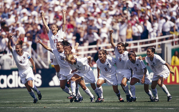 US Women win 1999 World Cup