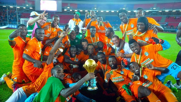 Ivory Coast lifts AFCON trophy