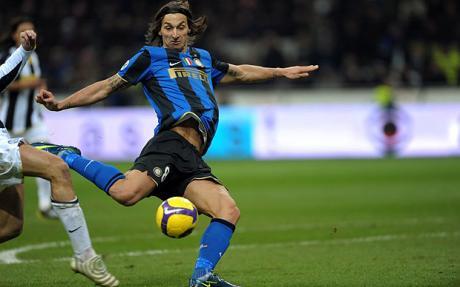 Zlatan on Inter