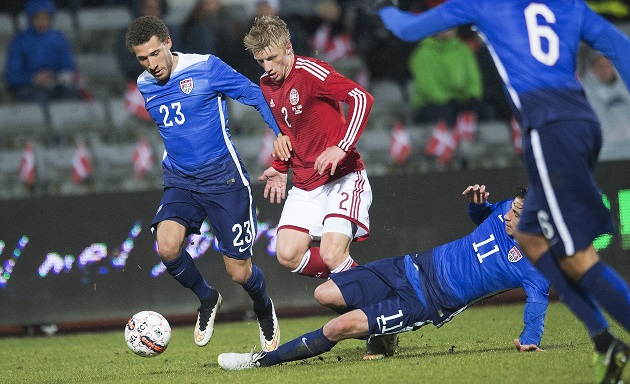 Denmark vs USA in friendly