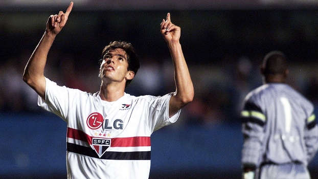Kaka on Sao Paolo