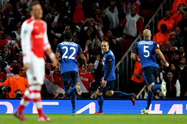Arsenal loses to Monaco