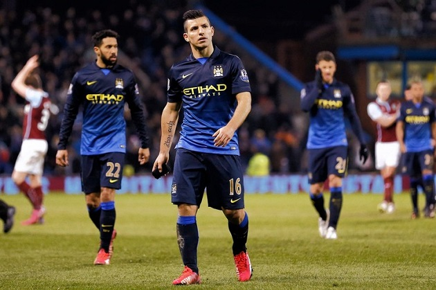 Man City shocked by Burnley