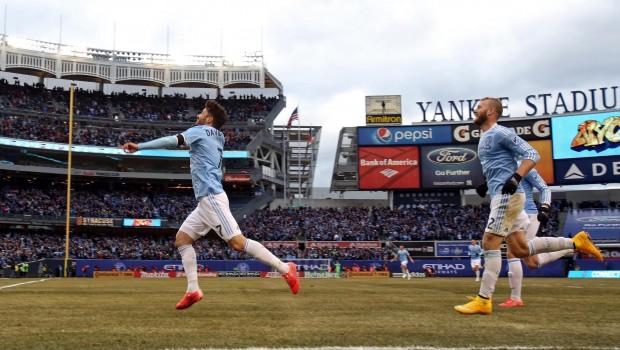 NYCFC in Yankee Stadium