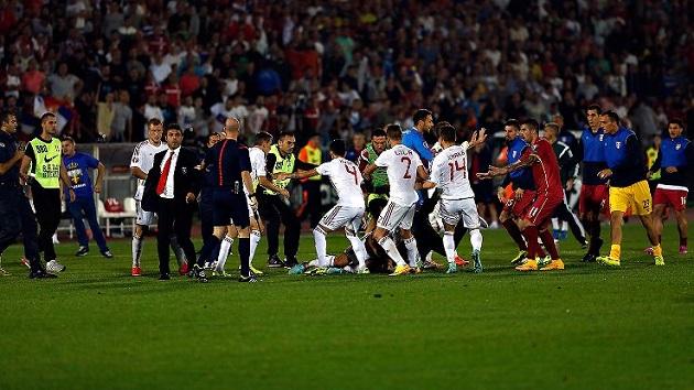 Albania and Serbia feud