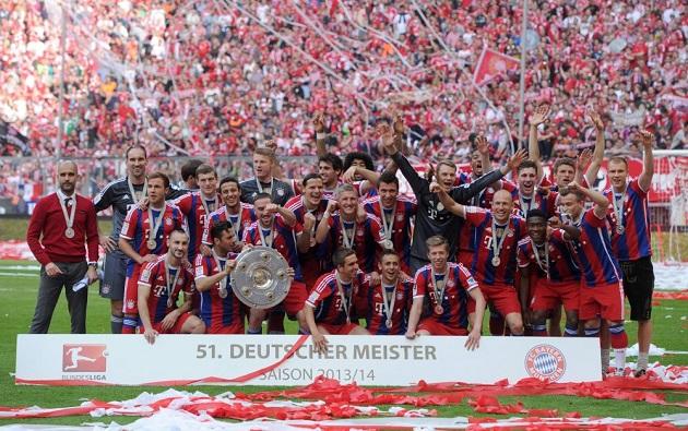 Bayern wins Bundesliga title