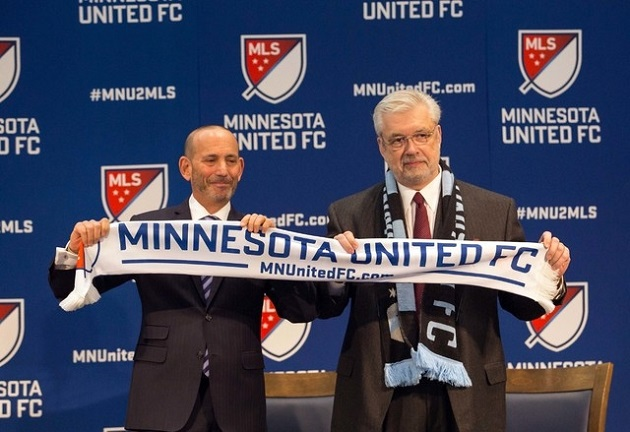 New MLS team Minnesota United